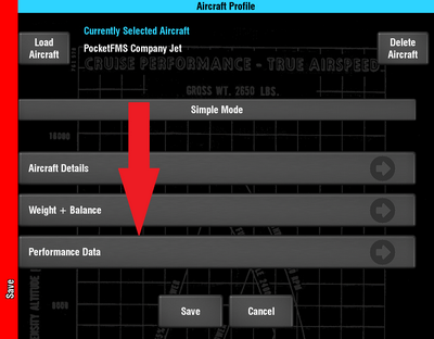Enter Performance Data.