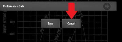 Cancel button.