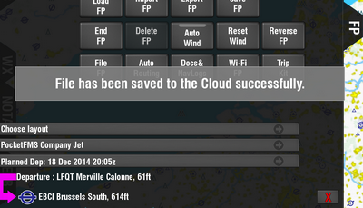 Saved to the Cloud.