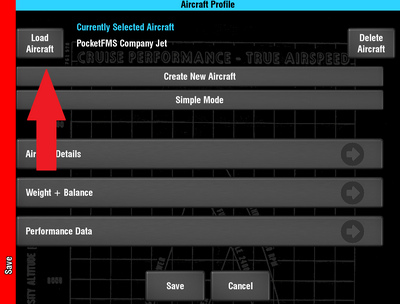 Load a Profile.