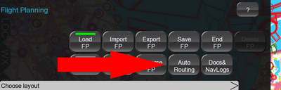 Auto Routing button.